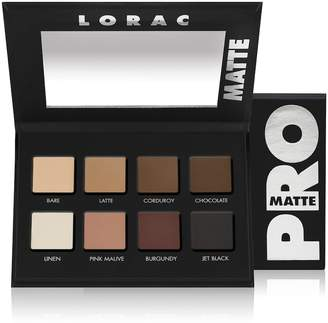 LORAC PRO Matte Eye Shadow Palette $28 thestylecure.com