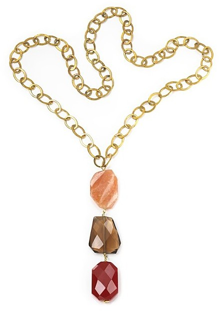 Nugaard Designs Stone Drop Necklace