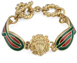 Gucci Metal bracelet with enamel details