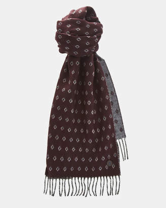 Ted Baker LIFTON Diamond pattern scarf