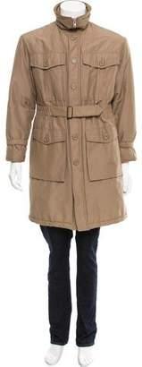 Christian Dior Belted Knee-Length Coat