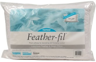 """Fairfield Feather-Fil Feather & Down Pillow Insert - 14"""" x 20"""""""