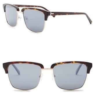 Ted Baker 58mm Polarized Full Rim Combination Sunglasses