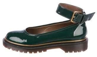 Marni Patent Leather Round-Toe Flats