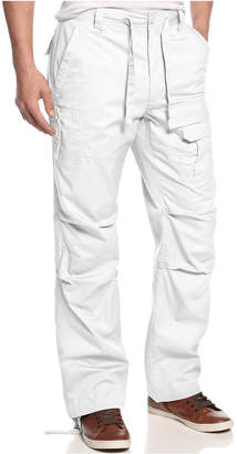 Sean John Men Pleat Pocket Flight Cargo Pants