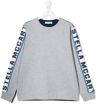 Stella McCartney TEEN Stella print sweatshirt