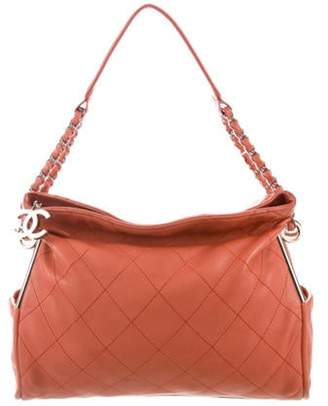 Chanel Small Ultimate Soft Hobo Coral Small Ultimate Soft Hobo
