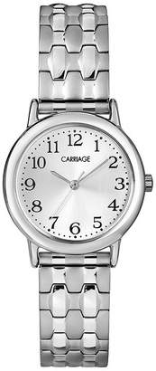 Timex Carriage by Womens Stainless Steel Expansion Bracelet Watch C3C7449J
