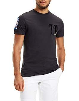 Tommy Hilfiger Th Chest Logo Relaxed Fit Tee