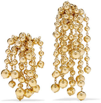 Jacquemus Les Perles Yasmin Gold-tone Clip Earrings - One size