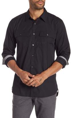 Kenneth Cole New York Regular Fit Chest Pocket Shirt