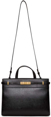 Saint Laurent Black Small Manhattan Tote