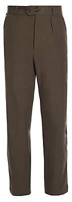 Alexander McQueen Men's Light Trench Cotton Pants
