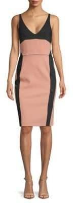 Narciso Rodriguez Wool Graph Sheath Dress