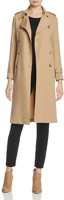 Sandro Jills Trench Coat $795 thestylecure.com