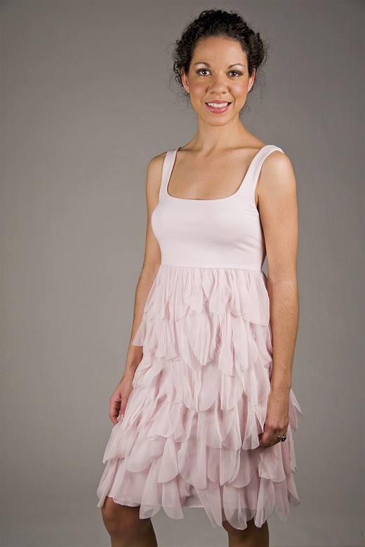 Bailey 44 The Flame and Flower Dress in Blush