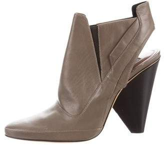 Derek Lam Leather Slingback Boots