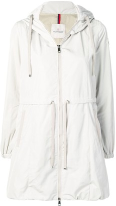 Moncler zipped trench coat