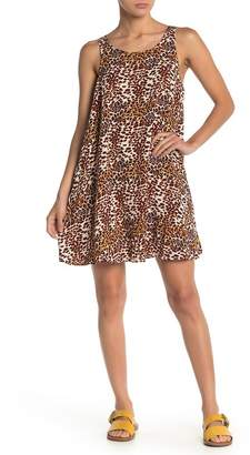 Taylor & Sage Leopard Sheath Dress
