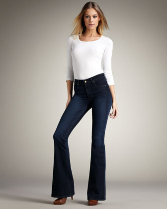 Paige High-Rise Bell Canyon Breckenridge Jeans