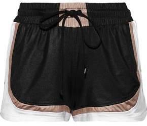 Koral Blackout Color-Block Sateen Shorts