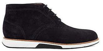 HUGO BOSS Suede desert boots with EVA-rubber sole