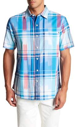 Tommy Bahama Can't Stop Ikat Short Sleeve Classic Fit Shirt