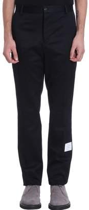 Thom Browne Chino Cotton Blue Pants