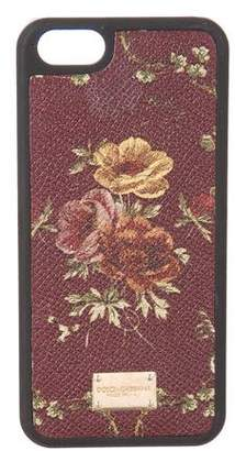 Dolce & Gabbana Floral Printed Phone 7 Case
