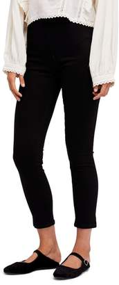 Free People High Waist Ankle Skinny Pants