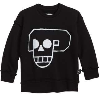 Nununu Skull Robot Patch Sweatshirt