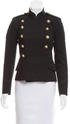 Etoile Isabel Marant Double-Breasted Military Jacket