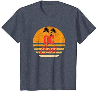OC California Vintage Retro T-Shirt 70s Throwback Surf Tee