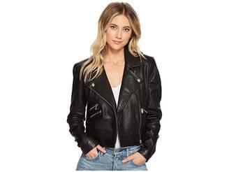 Joe's Jeans Patti Leather Jacket Women's Coat