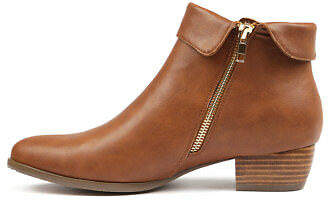 I Love Billy New Tashele Dark Tan Womens Shoes Casual Boots Ankle