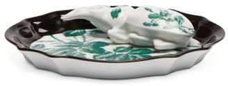 Gucci Herbarium Porcelain Incense Burner - Green Multi