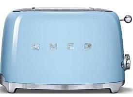 Smeg Tsf01Pbau - 2 Slice Toaster Pastel Blue