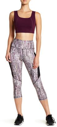 C & C California Print Capri Side Mesh Pocket Pant $68 thestylecure.com