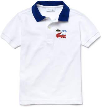 Lacoste (ラコステ) - Boys 限定ワニデザインポロシャツ (半袖)