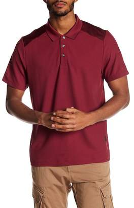 Perry Ellis Colorblock Short Sleeve Polo