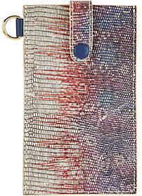 LOGO by Lori Goldstein Embossed Phone Sleevewith RFID