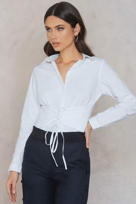 Rut & Circle Rut&Circle Milly Waist Shirt White