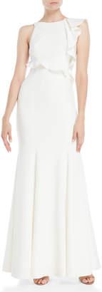 Jay Godfrey Hall Ruffled Gown