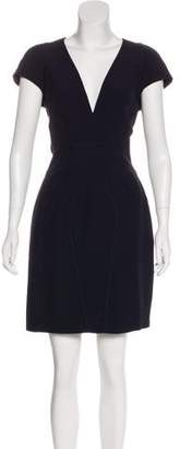Alexander McQueen Crepe Sheath Dress w/ Tags