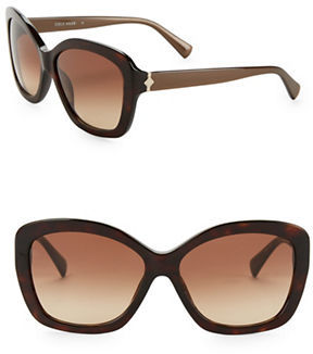 Cole Haan  Cole Haan 59MM Butterfly Sunglasses