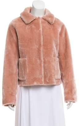 Rebecca Taylor Faux Fur Short Coat