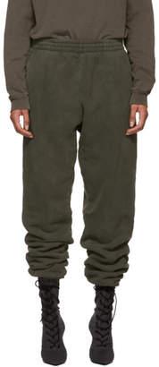 Yeezy Green Shrunken Sweatpants