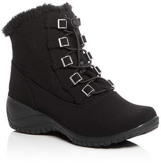 Khombu Alexa Waterproof Cold Weather Boots $75 thestylecure.com