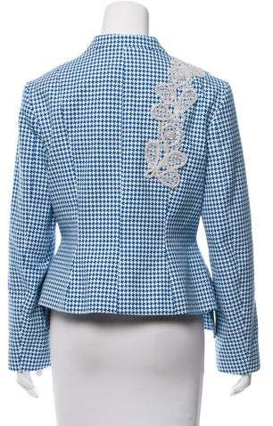 Creatures of the Wind Houndstooth Embellished Blazer w/ Tags