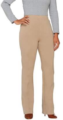 Liz Claiborne New York Ponte Knit Bootcut Pants w/ Seaming